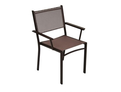 Costa armchair in Russet