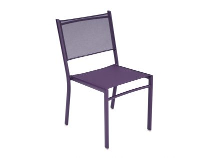 Costa chair in Aubergine
