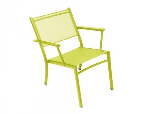 Costa low armchair in Verbena