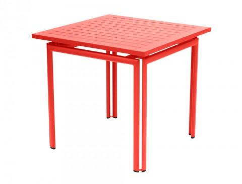 Costa table 80×80 in Capucine