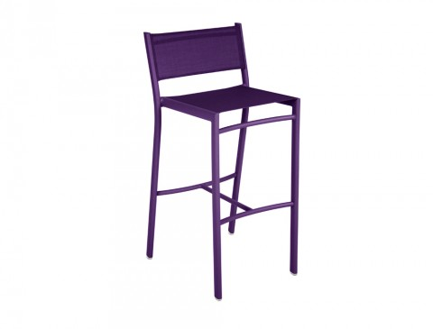 Costa high chair in Aubergine