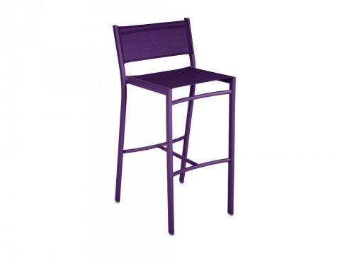 Costa high chair in Aubergine