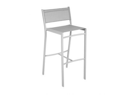 Costa high chair in Steel Grey
