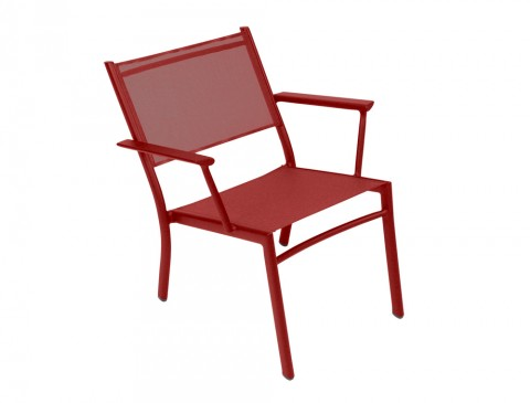 Costa low armchair in Chili