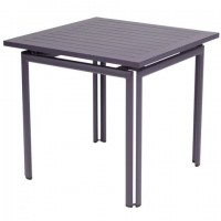 Costa table 80 × 80 in Plum