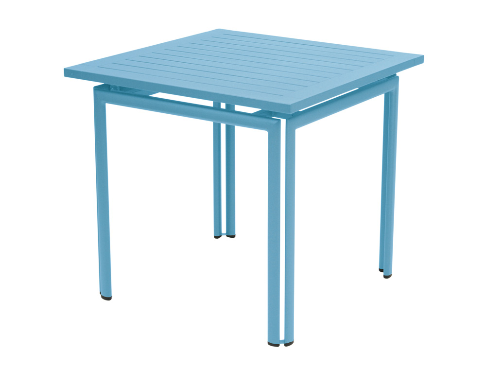 Costa table 80 80 cm le petit jardin for Table jardin