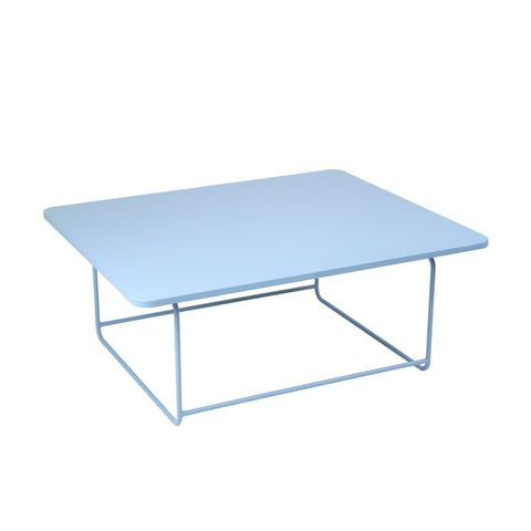 Ellipse low table in Fjord Blue