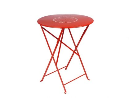 Floreal table Ø 60 cm in Poppy