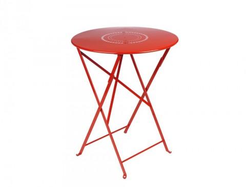 Floreal table Ø60cm in Poppy