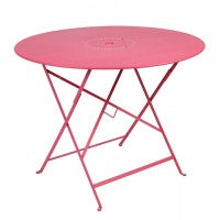Floreal table Ø 96 cm in Fuchsia