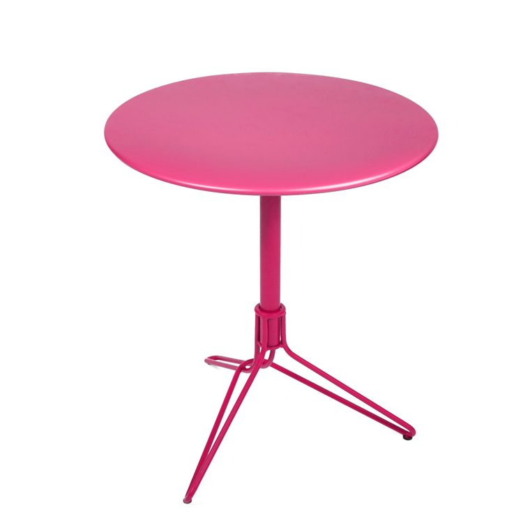 Flower table Ø 67 cm, made by Fermob and available from le petit jardin