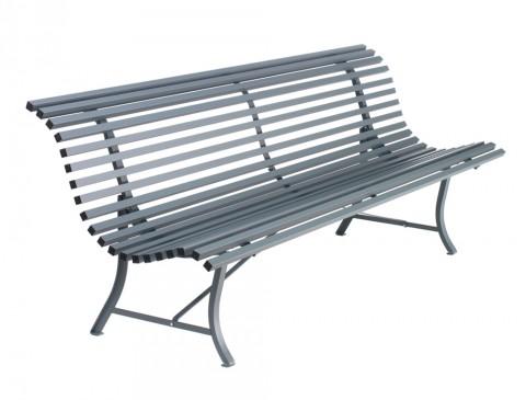 Louisiane bench 200cm in Storm Grey