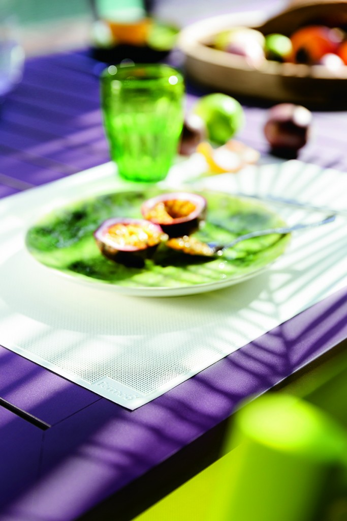 Costa table in AuberginePhotography by Stéphane Rambaud
