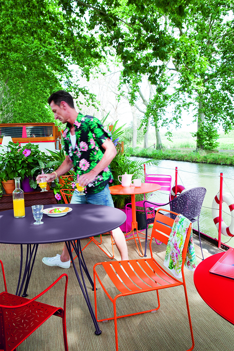 Rendez vous table 110 cm le petit jardin - Table jardin fermob ...