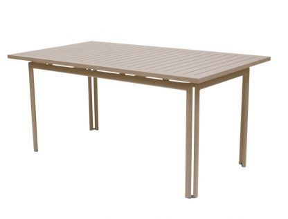 Costa table 160 × 80 in Nutmeg