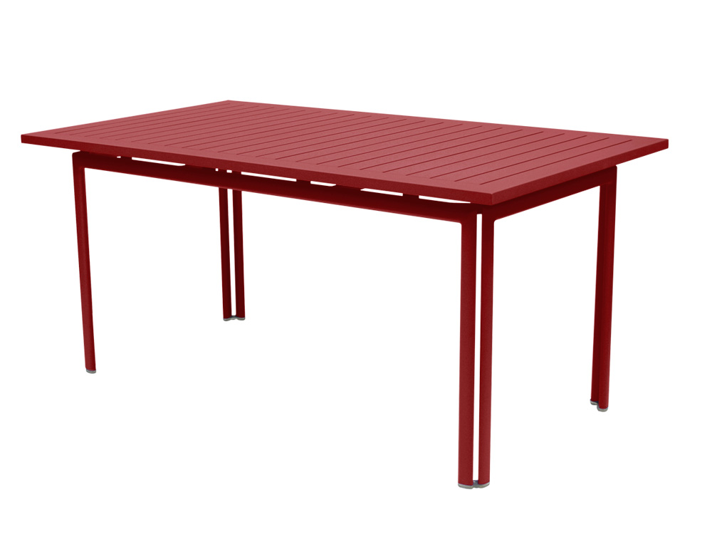 Costa table 160 × 80 cm by Fermob and available from le petit jardin
