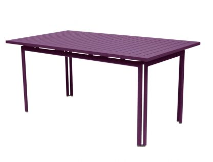 Costa table 160 × 80 in Aubergine