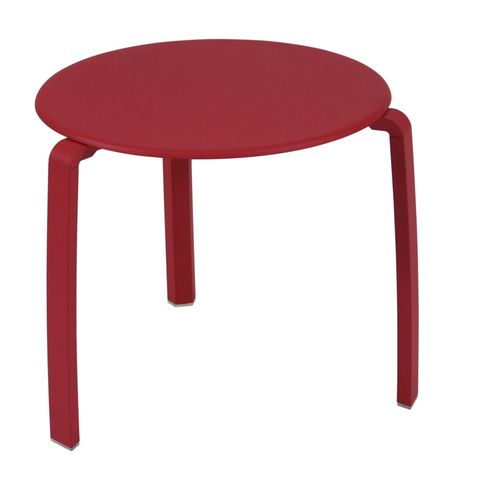Alizé low side table in Chili
