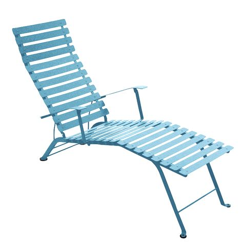 Bistro sunlounger in Turquoise