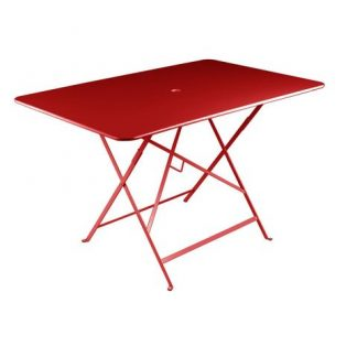 Bistro table 117 × 77 cm in Poppy