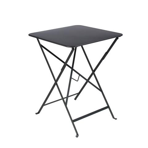 Bistro table 57×57cm in Liquorice