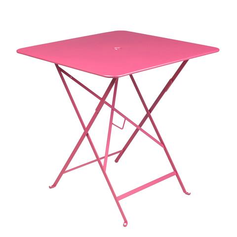 Bistro table 71×71cm in Fuchsia