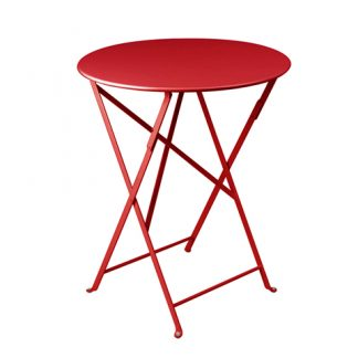 Bistro table 60 cm diameter in Poppy