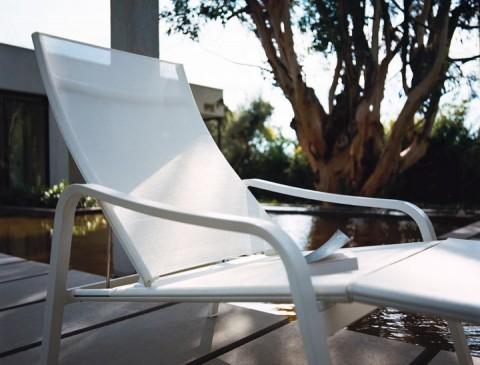 Alizé deck chair in Cotton White