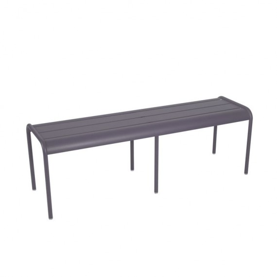 Luxembourg long bench in Plum