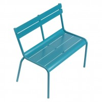Luxembourg Kid bench in Turquoise