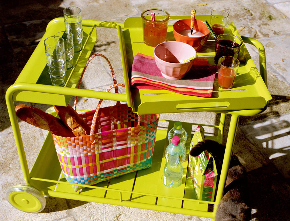 Luxembourg drinks trolley in Verbena