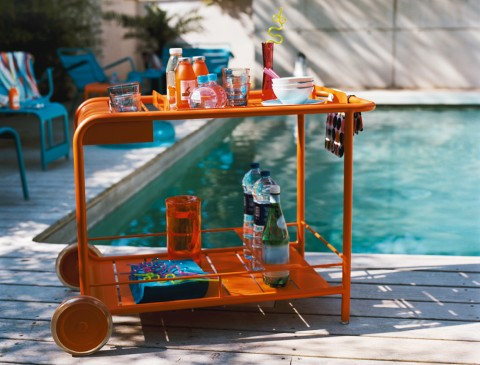 Luxembourg drinks trolley in Carrot