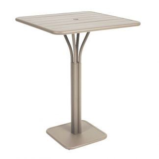 Luxembourg square high table in Nutmeg