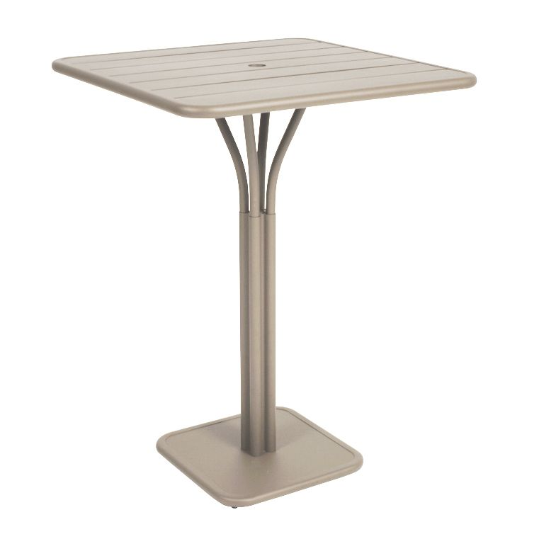 Luxembourg pedestal high table, made by Fermob and available from le ...