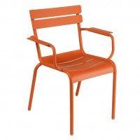 Luxembourg armchair in Paprika