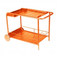 Luxembourg side table / bar in Carrot