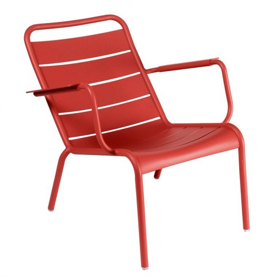 Luxembourg low armchair in Chili