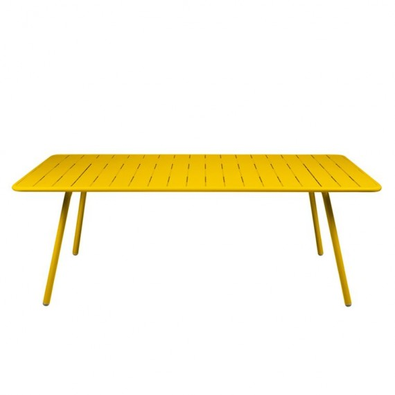 Luxembourg table 100×207 cm in Honey