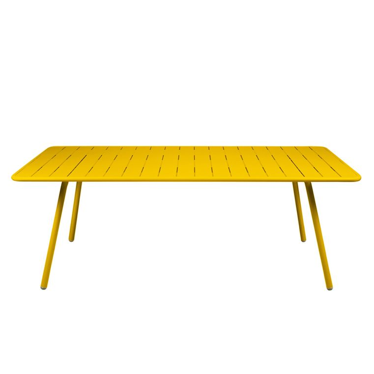 Luxembourg table 100×207cm in Honey