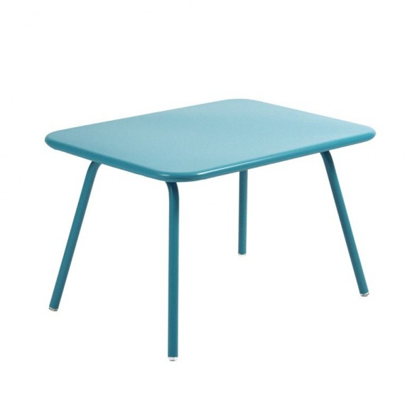 Luxembourg Kid table in Turquoise