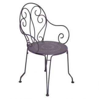 Montmartre armchair in Plum