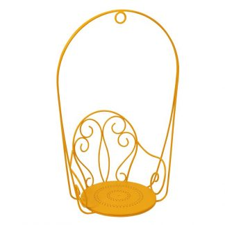 Montmartre hanging armchair in Honey