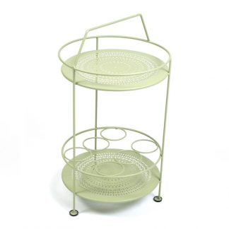 Montmartre portable bar in Willow Green