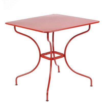 Opéra table 77 cm in Poppy