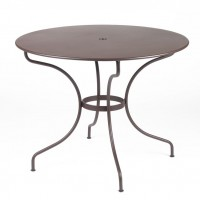 Opéra table 96 cm in Russet
