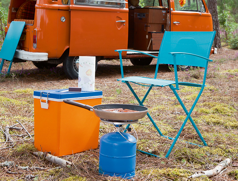 Plein Air chairs in Turquoise Blue