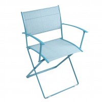 Plein Air armchair in Turquoise Blue
