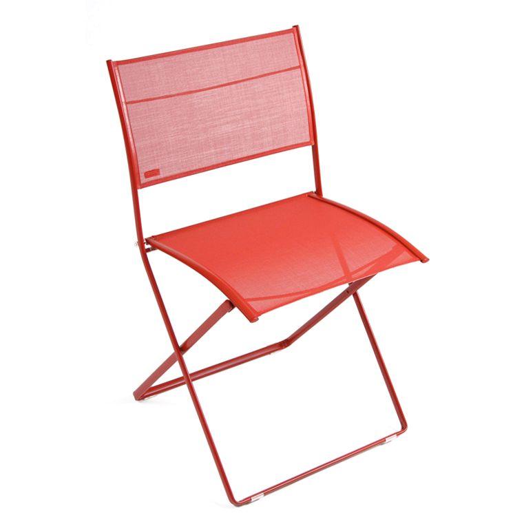 Plein Air chair in Poppy