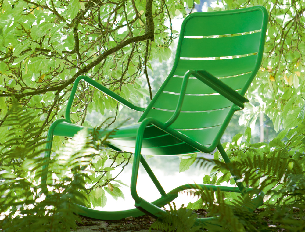 Luxembourg rocking chair le petit jardin - Rocking chair jardin ...