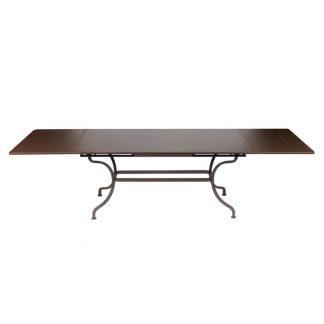 Romane extending table 300×100cm in Russet